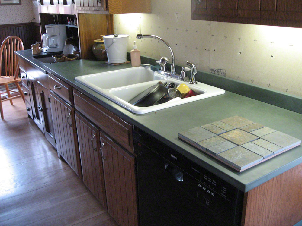 green slate countertops green slate countertop for the home vermont countertop slate. Black Bedroom Furniture Sets. Home Design Ideas