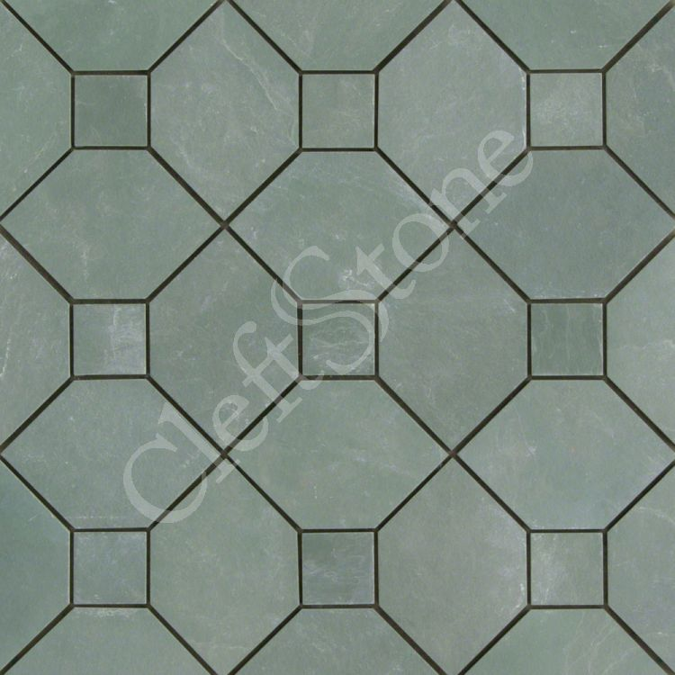 Pentagon Shaped Pattern On A Stone Floor Flooring : Shapes patterns the cleftstone works